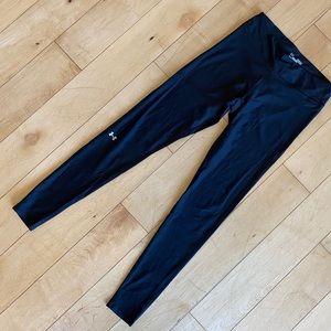 Under Armour HeatGear Black Full Length Leggings